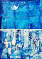 Dipinto moderno, opera originale, dipinto astratto firmato a mano, Stefano Fiore