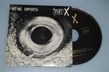 Tribu-X ‎– No Me Importa + Entrevista. CD-Single/Promo