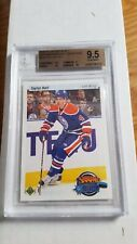 2010-11 UD TAYLOR HALL YOUNG GUNS 20th ANNIVERSARY BGS 9.5 W/ 10 RETRO ROOKIE