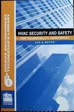 Hvac Security and Safety for Vulnerability Assessment (2004 Book Other) New