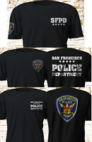 New San Francisco Police Department SFPD charlie's angels Black T-shirt S-4XL