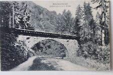 30047 AK Rabenauer Grund Weißeritz mit II. Brücke bei Rabenau 1921