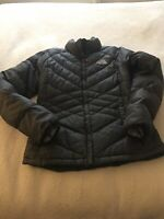 Womans Gray North Face Down Jacket~Size Small