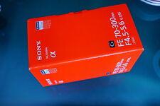 Sony SEL70300G 70-300mm F/4.5-5.6 G OSS FE für Sony Neu MWSt