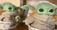 "Baby Yoda Doll Star Wars Doll The Mandalorian The Child 11"" Plush Mattel"