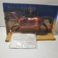 Breyer Barbaro Cigar Mold Bay Horse #1307 2006 Kentucky Derby Winner COA & Box