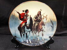 The Prideful Ones Plate Collection by Chuck DeHaan ~ Village Markers ~ Mib & Coa