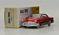 Red GFCC TOYS 1:43 1956 Buick Roadmaster- Riviera- 4 Door Hardtop  Alloy car