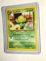 SUNFLORA - Neo Genesis Set - 50/111 - Uncommon - Pokemon Card - Unlimited - NM