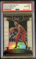 2018 Collin Sexton Panini Select WHITE PRIZM #75 Rookie RC /149 PSA 10 - Pop 9📈