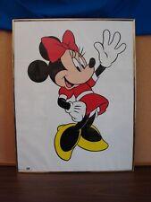 "New listing Original '60's Disneyland California, ""Minnie Mouse"" Framed Poster - 22"" x 28"""
