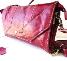 Genuine natural leather bag woman purse tote wallet Ladies pink Clutch Coins new