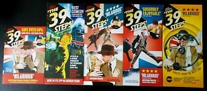 5 The 39 Steps at Criterion Theatre & Birmingham REP promotional flyers/leaflets