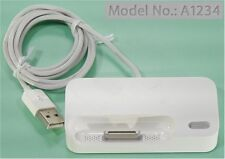 Apple A1234 Dual Dock for iPhone(1G/2G/3G) and Bluetooth Headset  ++FREE SHIP!