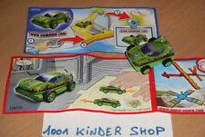 KINDER RACE UN056 UN 56 VOITURE SPORT CAR + BPZ LONG DOUBLE