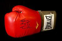 New Tony TNT Tucker Signed 16oz Red Everlast  Boxing Glove