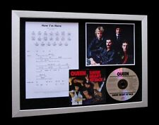 QUEEN Now I'm Here LIMTED Nod CD MUSIC FRAMED DISPLAY!!