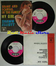LP 45 7''SHAWN ELLIOTT Shame and scandal family 1962 usa DISQUES VOGUE cd mc dvd