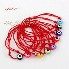 10pcs Red String Bracelet Evil Eye Bead Red Protection Health Luck Bracelets