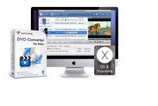 AnyMP4 DVD Converter for Mac DVD to AVI, FLV, MOV, MPEG, MKV, H.264 & more+