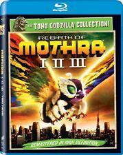 Rebirth Of Mothra I Ii Iii New Sealed Blu-ray The Toho Godzilla Collection