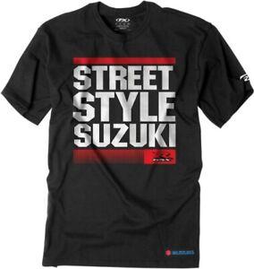 Factory Effex Suzuki Street Style T-Shirt Motorcycle Street Bike Dirt Bike