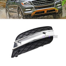 For Mercedes ML350 ML450 09-11 New DRL Light Cover Front Bumper Grille Left *1
