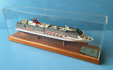 CARNIVAL PRIDE cruise ship MODEL ocean liner boat 1:900 scale replica, Scherbak