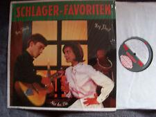 V.A. - Schlager - Favoriten   Eva May, Faye Tucker   rare German Somerset  LP