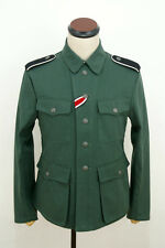 TAILORED WWII German M42 elite summer HBT reed green field tunic