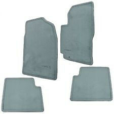 NEW OEM 1997-2001 TOYOTA CAMRY GRAY (BLUE GRAY) FLOOR MATS 4-PEICE SET & CLIPS
