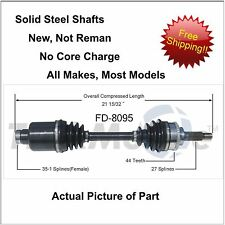 2001-2012 Ford Escape CV Axle Shaft-New Front Right Passenger side