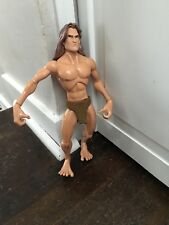"Disney TARZAN Jungle Hero Burroughs Action Figure Doll Toy 12"" Articulated HTF"