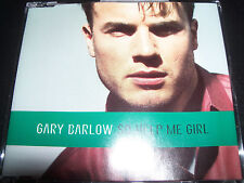 Gary Barlow Of Take That So Help Me Girl 4 Track Australian CD Single - Like New