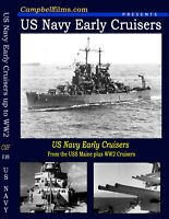 USN Early and Nuclear Cruisers 1900s 1960s WW1 WW2 USS Santa Fe Brooklyn Savanna