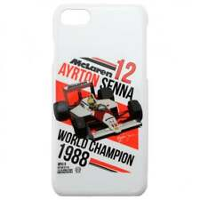 Ayrton Senna collection McLaren F1 Housse Voiture Galaxy S7 Blanc