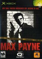 Max Payne - Original Xbox Game