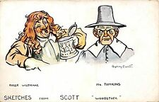 POSTCARD  COMIC   Sketches  from  Scott       Woodstock
