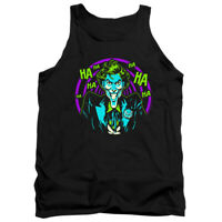 BATMAN JOKER HAHAHA Licensed Men's Graphic Tank Top Sleeveless Tee SM-2XL