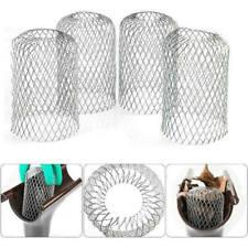 4X Dachrinnen Sieb Laubfangkorb Dachrinnenschutz Aluminium Regenrinnen Schutz XS