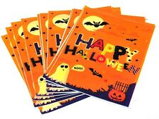 20 x Halloween Bats Party Loot Treat Favour Bags trick or treat Sweet Bags