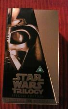 STAR WARS TRILOGY (GOLD SPECIAL EDITION VIDEO) Very good condition.