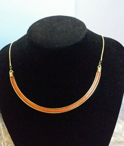 Collar Red Metal Necklace