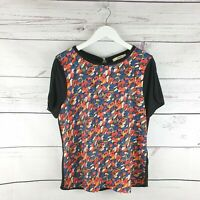 Ladies Oasis Multicolored Spring Summer Top Size S UK Size 8-10