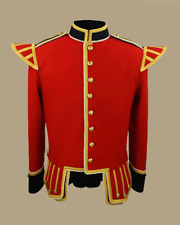 Red Military Drummer Doublet by Scottish Kilt | Made To Measure