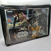 Vintage Star Wars 24 Figure Collectors Case 1978 Kenner Two Trays All Original