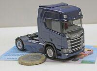 Herpa 307109Scania CR 20 HD Zugmaschine, dunkelblau