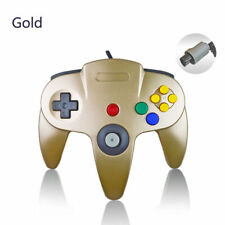 GOLD For Nintendo 64 Console N64 Wired Controller Joystick Gamepad -NEW