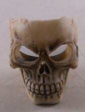 Resin Skull Tealight Candle Holder Tabletop Home Decor Halloween