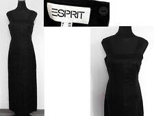 Langes ESPRIT Kleid von äußerst hochwertiger Eleganz aus 100% Remie- Leinen * S